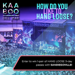 Enter for a chance to win 2 weekend passes to KAABOO Del Mar 2017 - September 15-17