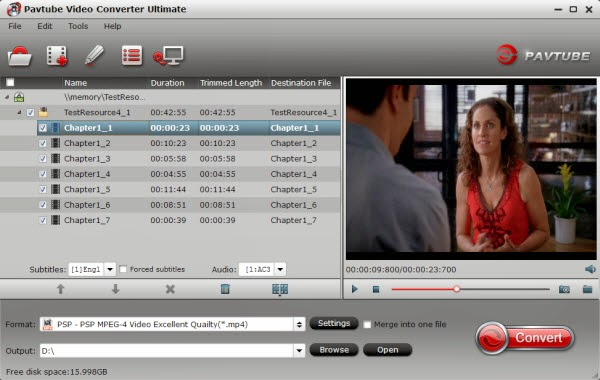PSP Video Converter