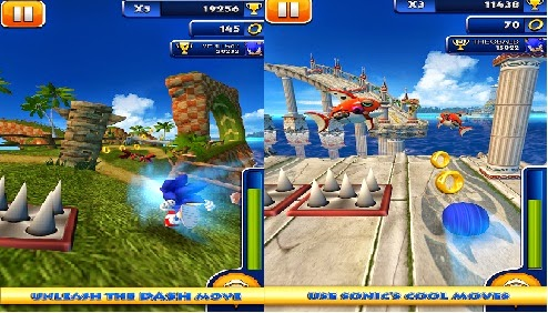 Sonic Dash 4.3.1 apk + Mod + data android download