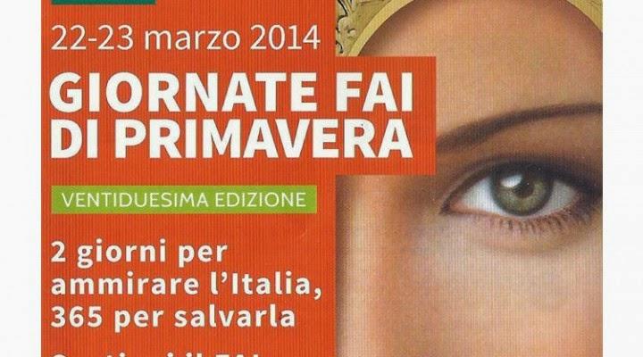 sabato 22 e domenica 23 marzo 2014: giornate FAI di primavera, iniziative a Milano