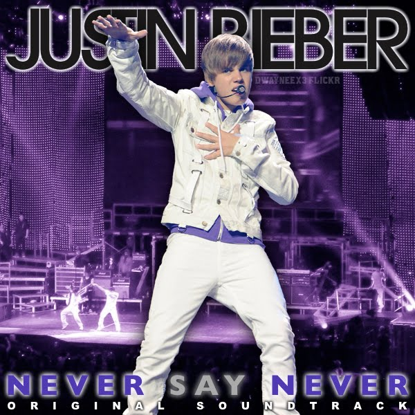 justin bieber never say never movie cover. Justin Bieber - Never Say