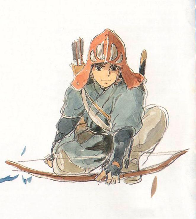 Character Design Anime Studio Story : Living lines library もののけ姫 princess mononoke
