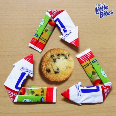 Entenmann's Little Bites Recycle Triangle