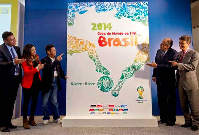 2014 FIFA World Cup Brazil host city posters revealed