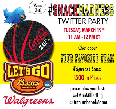 Let's Talk Food at the Walgreens #SnackMadness Twitter Party! RSVP Today! #cbias