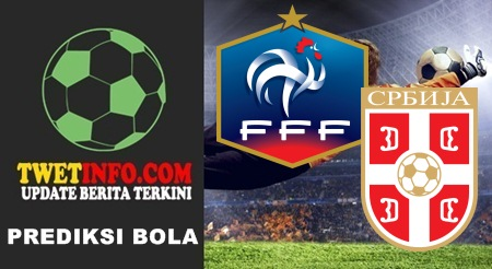 Prediksi Score Prancis vs Serbia 08-09-2015