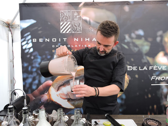 Cocktails cacao Benoit Nihant