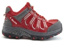 sepatu import trail red shoe