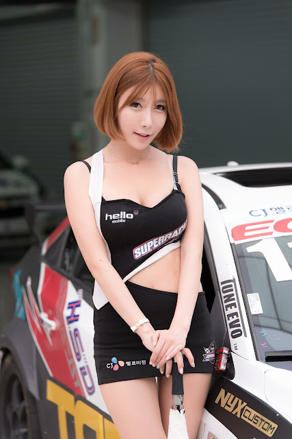 3 Park Yu Ju - CJ Super Race R5 - very cute asian girl-girlcute4u.blogspot.com
