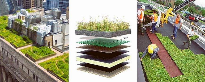 Sastrer a vegetal dise o de jardines y bosques - Cubiertas vegetales para tejados ...