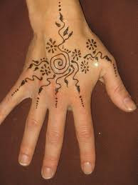 Simple Henna Tattoos On Back