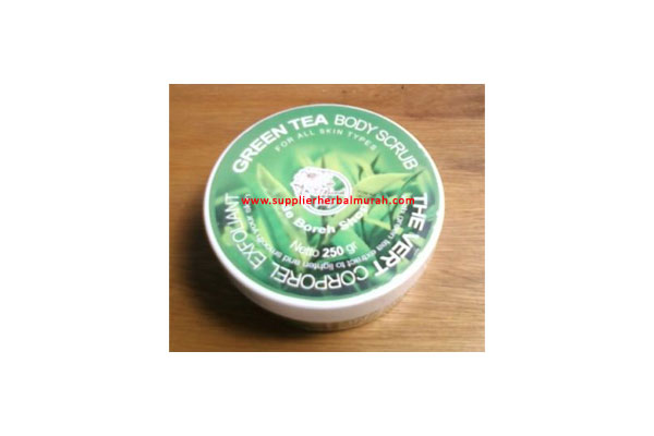 de Boreh Green Tea Body Scrub 250gr