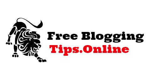 Free Blogging Tips Online