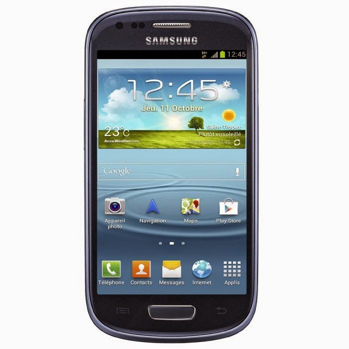 Comparatif Samsung Galaxy S3 Mini Bleu I8190
