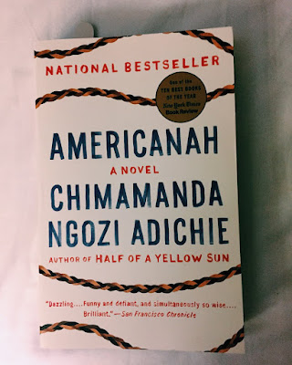 Picture of Americanah book cover