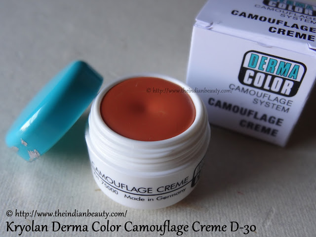 kryolan derma color camoflage creme d30 review