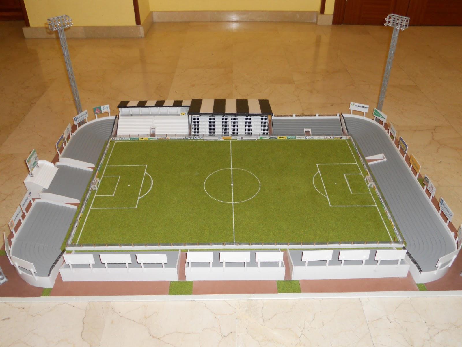 Mis estadios en miniatura for Como hacer gradas
