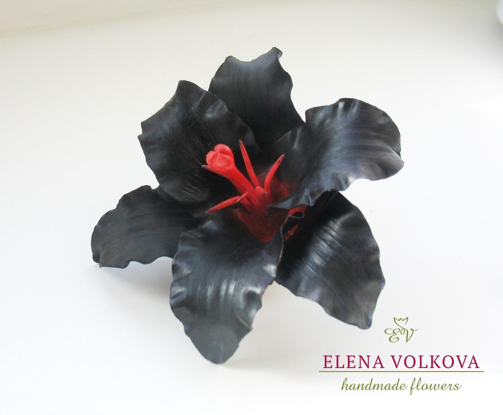 Чёрные цветы и такое бывает