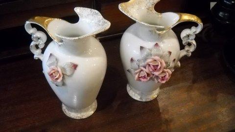 Hidden Treasures Vintage Rosebud Vases