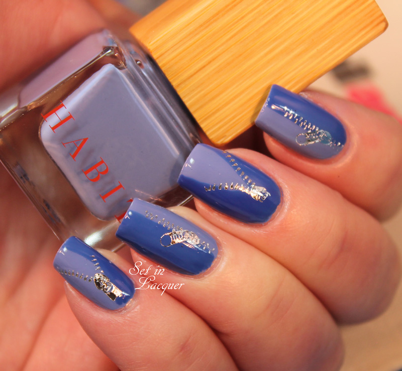Nail Art Society March 2014- Featuring Habit Cosmetics
