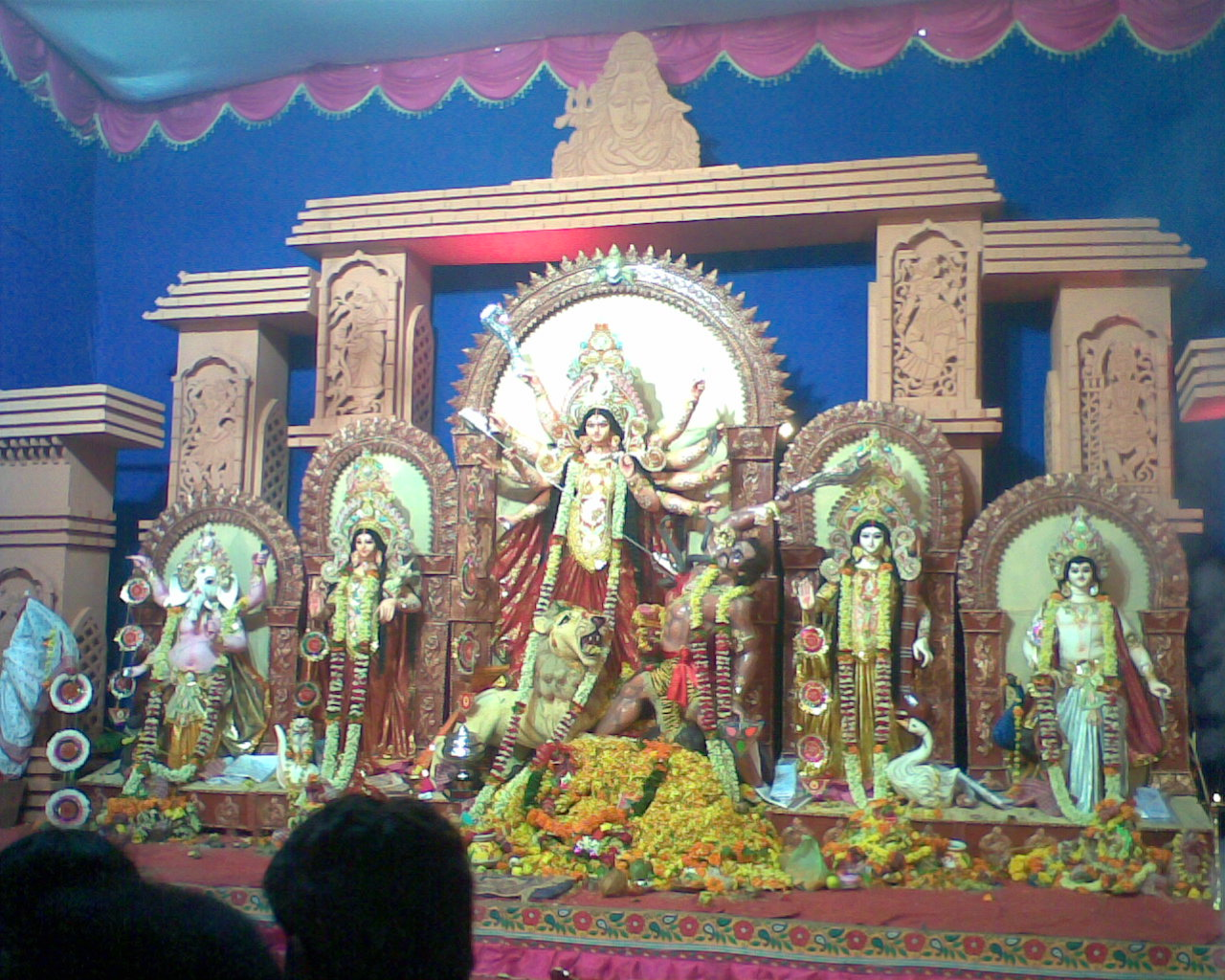 Durga pujas in pune shamikeverything easily one of the most visited pandals in pune during the pujas thousands come to this particular historic venue the densely populated mandap creates a thecheapjerseys Choice Image
