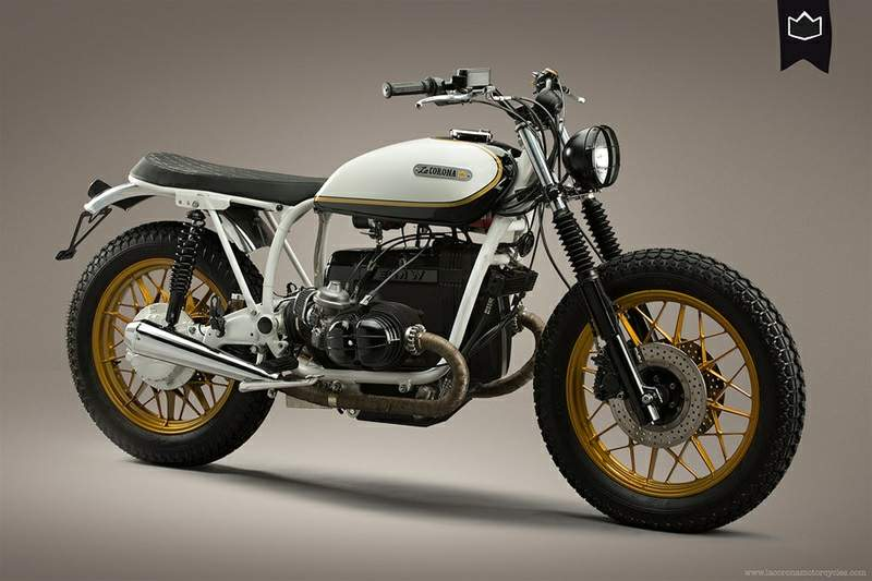 Custom Bike shop La Corona Motorcycles out of Barcelona have done an ...