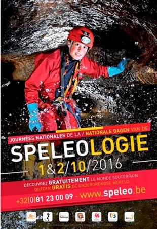 Journées Nationales de la Spéléologie - EDITION 2016 AUX GROTTES DE NEPTUNE A PETIGNY (ASAG/GSC)