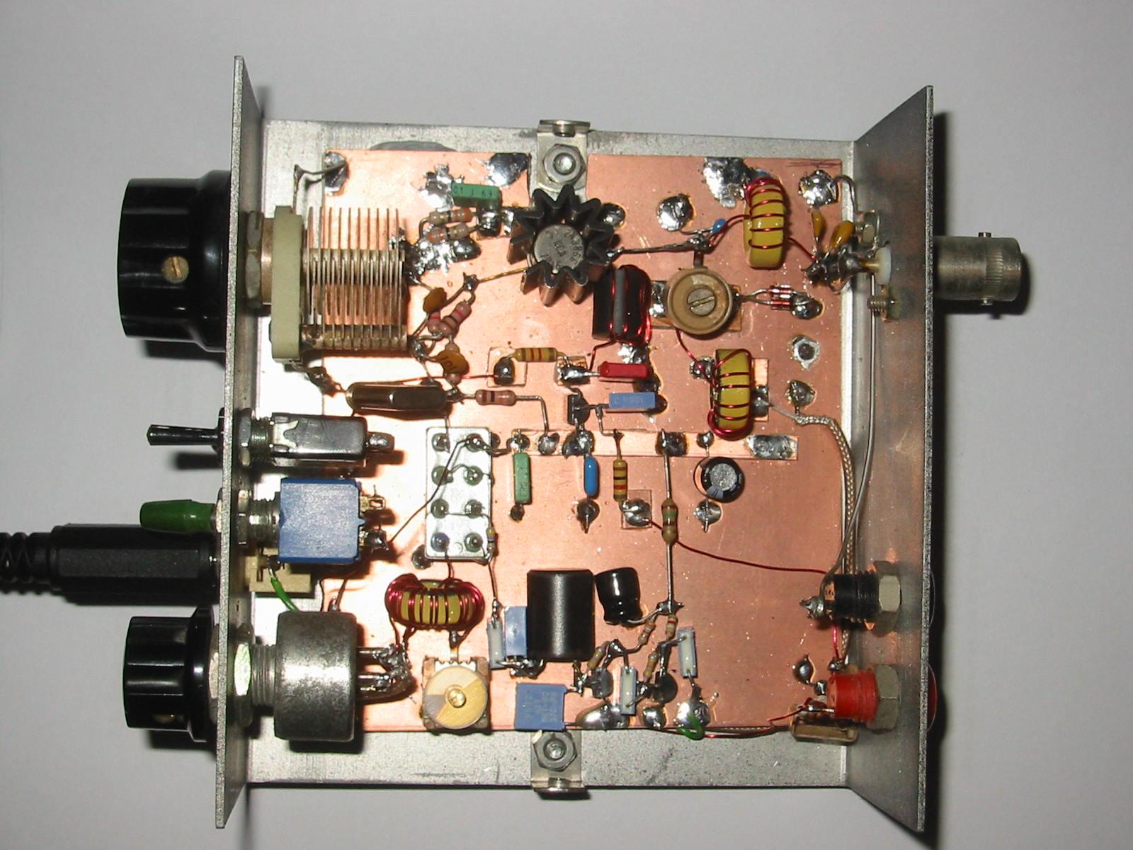 ham radio receiver manhattan style hackaday car block wiring diagram