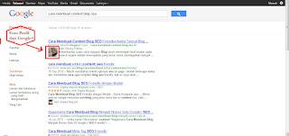 Cara Membuat-Menampilkan Foto Profil Google Plus di Google Search Engine