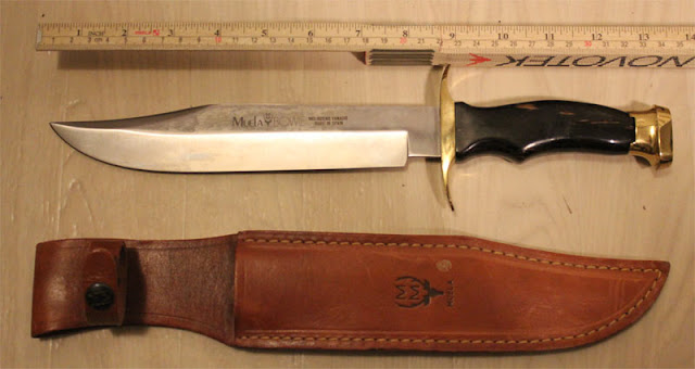 Big Muela Bowie Knife