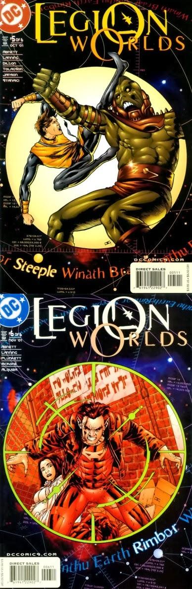 Legion Worlds # 1-6 - Abnett, Lanning, Cassaday et al