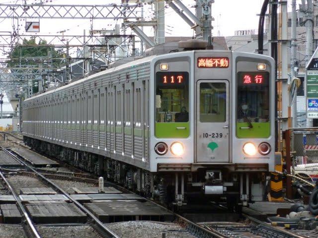 京王電鉄 急行 高幡不動行き5 10-000形230F 250F(節電ダイヤに伴う運行)