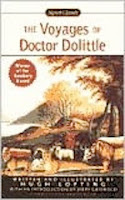bookcover of THE VOYAGES OF DOCTOR DOLITTLE  by Hugh Lofting