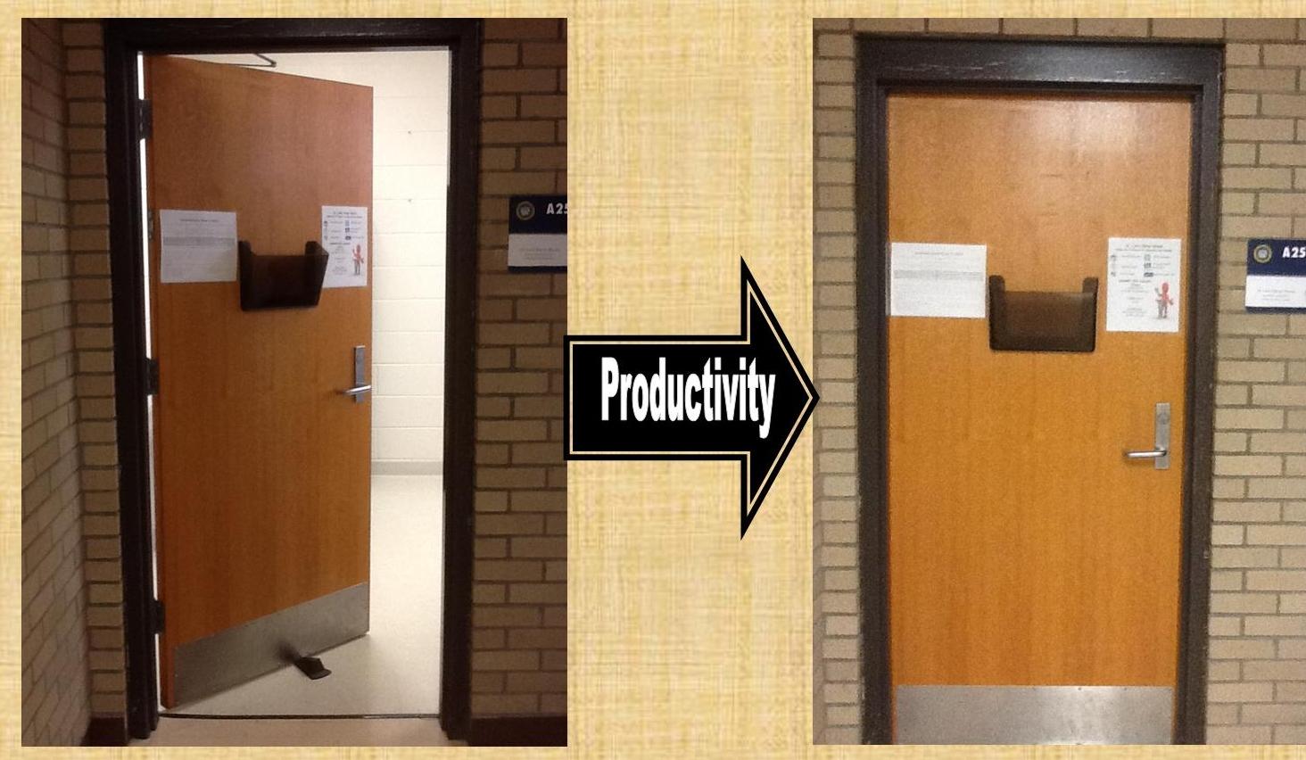 open office doors. Simple Open Closing The DoorPrioritizing Research In Open Office Doors D
