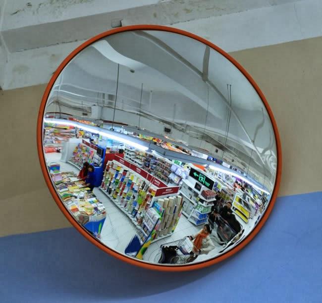 Arregui espejos para seguridad y vigilancia arregui for Espejo esferico convexo
