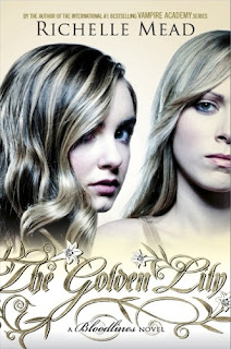 The Golden Lily (Bloodlines #2): cover love