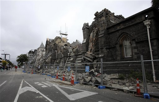 pictures of earthquake in new zealand 2011. From the New Zealand Red Cross