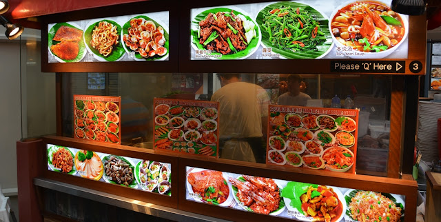Chinatown Singapore food