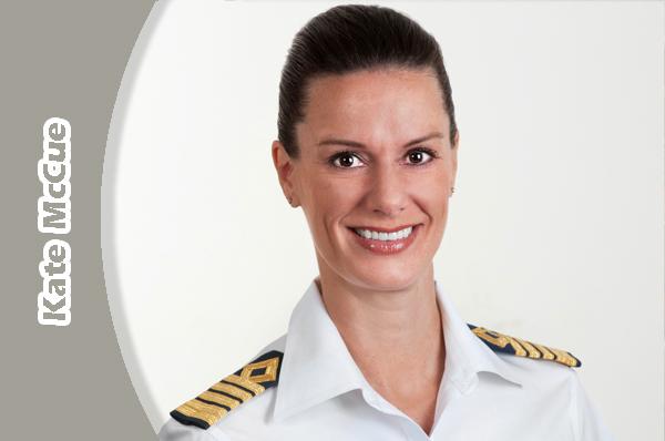 NOTICIAS DE CRUCEROS - Kate McCue, se convierte en la primera mujer norteamericana Capitana de un crucero