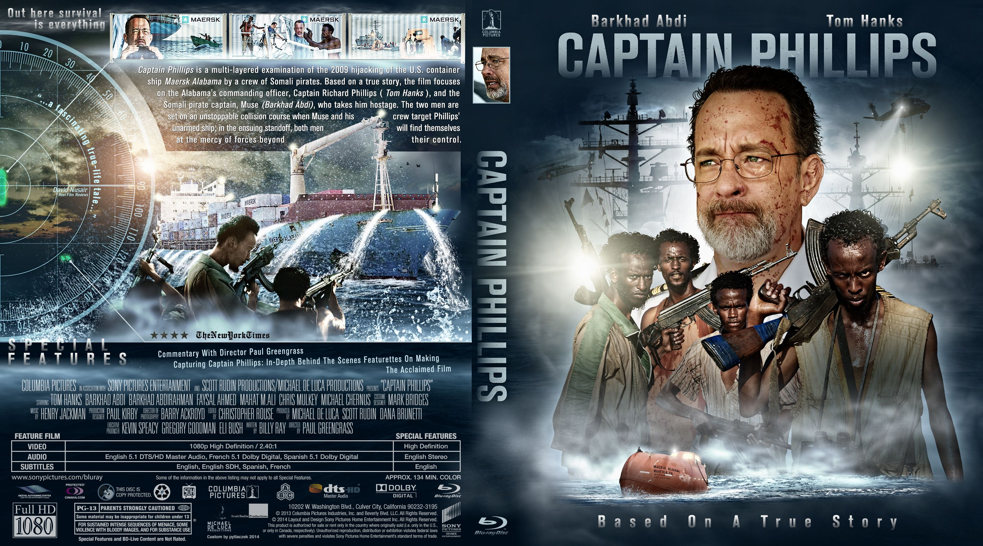 Capa Bluray Captain Phillips