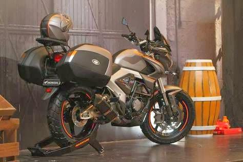 Modifikasi Honda New Megapro Terbaru