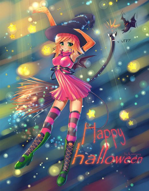 Happy halloween por kaminary-san