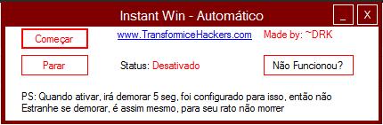 Instant win v4 transformice hack