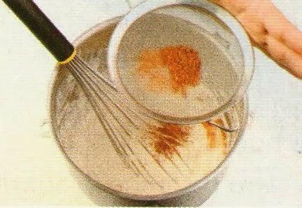 Receta de crema de chantilly de chocolate