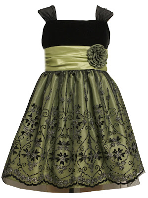 Velvet Dress on Mini Accessorizer  Top 10 Formal Holiday Dresses For Girls  Sizes 7 16