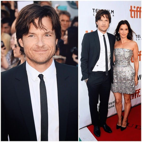 Jason Bateman wears Dior Homme black suit to 2014 Toronto International Film Festival