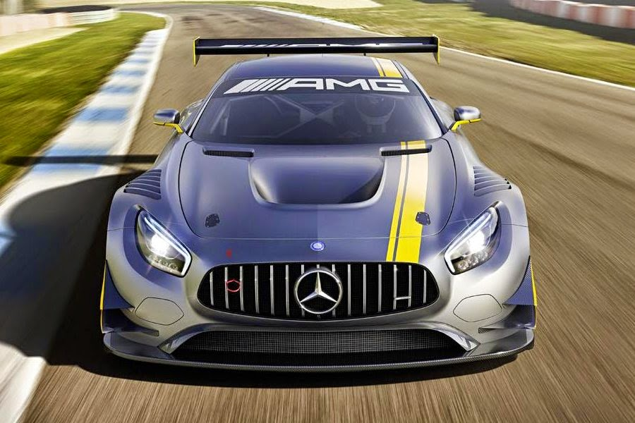 Mercedes-AMG GT3 2016 (Rendering) Front