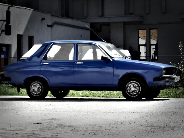 Romanian Car Dacia 1300 side view