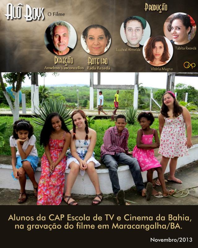 ALÔ BOYS - O FILME ROTEIRO DE RADA REZEDA E DIRECAO DE ANSELMO VASCONCELOS, ATOR DO ZORRA TOTAL