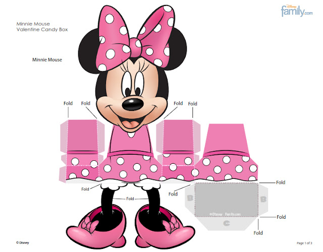 FREE Official Disney Minnie & Mickey Mouse Cupcake Wrappers (4 ...